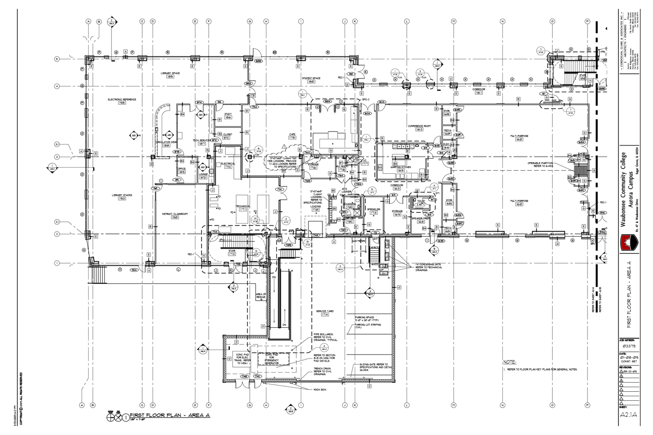 Permit Construction Drawings Studio Ats