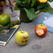 Apple Store's Tribute to Steve Jobs – October 8, 2011