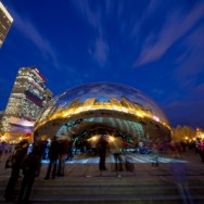 Chicago Cloud Gate – February 17, 2012